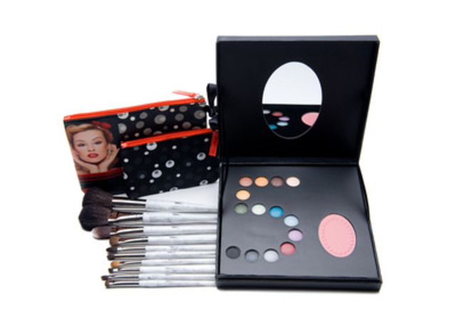 To mark Shoppers Drug Mart's 50th anniversary, Quo Cosmetics unveils a limited-edition, 60s-inspired collection this month. The lineup features a gorgeous beauty palette, a commemorative 10-brush set, and Quo by ORLY Glitter FX nail polish in six celebratory shades, all available while quantities last. (CNW Group/Shoppers Drug Mart Corporation)
