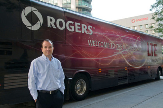 John Boynton, Rogers Executive Vice President and Chief Marketing Officer, announced today that Rogers will expand Canada's first LTE network to Toronto on September 28, 2011. (CNW Group/Rogers Communications Inc.)