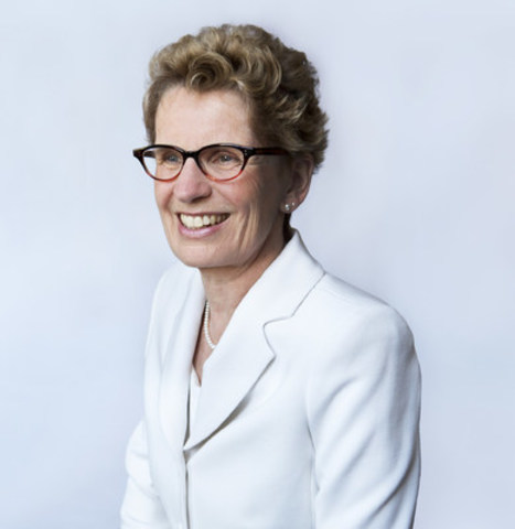 Ontario Premier Kathleen Wynne (CNW Group/Canadian Council for Public-Private Partnerships)