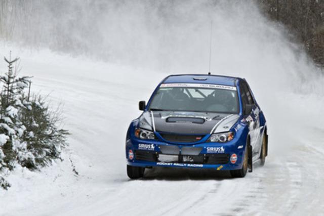 L'équipe canadienne des rallyes Subaru au rallye Tall Pines 2013. Photo: Mat Janiak. (Groupe CNW/Subaru Canada Inc.)