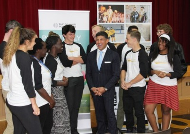 The Dilawri Foundation announces a $500,000 donation to Luther College High School to provide access to high-quality education to students facing financial constraints. (CNW Group/The Dilawri Foundation)