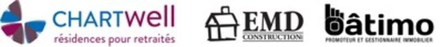 Chartwell Retirement Residences et EMD-Batimo (Groupe CNW/Chartwell, résidences pour retraités)