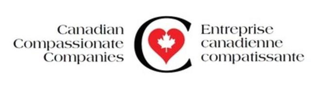 Logo : Entreprise canadienne compatissante (Groupe CNW/Association canadienne de soins palliatifs)