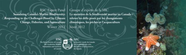 RSC Expert Panel - Sustaining Canadian Marine Biodiversity (CNW Group/Royal Society of Canada) (CNW Group/Royal Society of Canada, The)