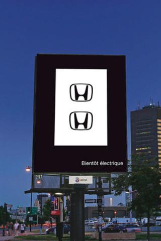 Honda électrique 1. (Groupe CNW/Astral Media Inc.)