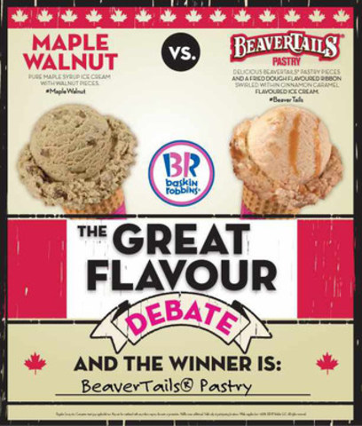 Baskin-Robbins Canada celebrates the return of National Ice Cream Month and announces winner of June social ...