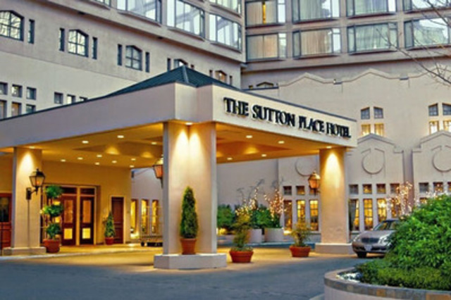 The Sutton Place Hotel; Vancouver, BC. Photo courtesy of Hotels.com® (CNW Group/Hotels.com)