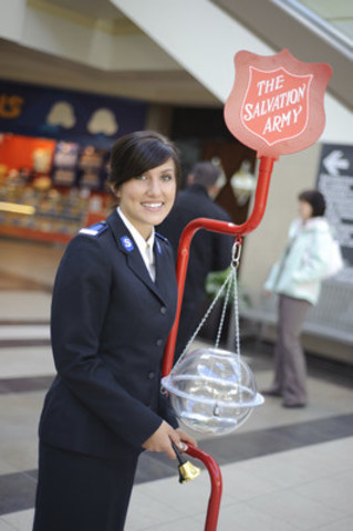 Hosted at more than 2,000 locations across Canada, the annual Christmas Kettle Campaign is The Salvation Army's largest fundraising drive of the year. (CNW Group/The Salvation Army)