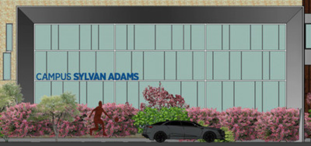 Sylvan Adams Campus; a new home for Herzliah students in Montreal, Qc. (CNW Group/Herzliah High School)