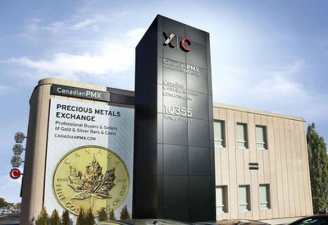 On November 3, 2011, Canadian PMX Corp. launched its public showroom in Richmond Hill, Ontario, to help make gold and silver purchasing easy and accessible to all levels of Canadian investors. (CNW Group/Canadian PMX)