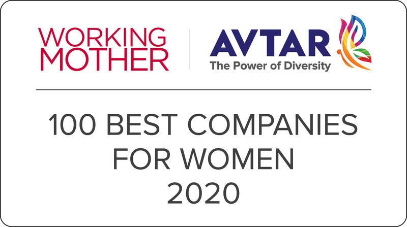 Impetus among 2020 Working Mother & Avtar Best Companies for Women in India