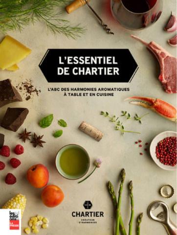L'essentiel de Chartier remporte en Chine le prix du Meilleur livre de cuisine au monde - catégorie Innovation! (Groupe CNW/Nata Pr)