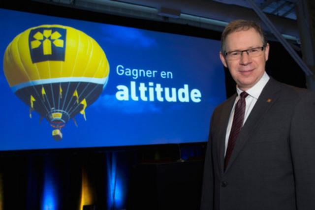 Réjean Robitaille, président et chef de la direction de la Banque Laurentienne. (Groupe CNW/Banque Laurentienne du Canada)