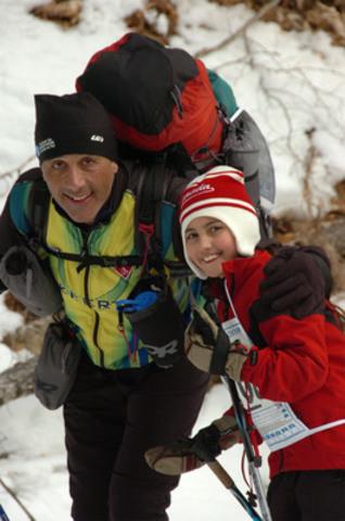 Aventure de ski. (Groupe CNW/Marathon canadien de ski)