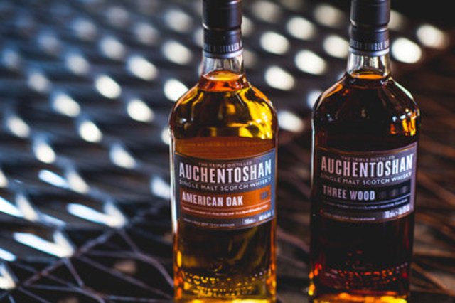 Auchentoshan is the only distillery in Scotland to triple distill every drop of liquid. (CNW Group/Beam Suntory Inc.)