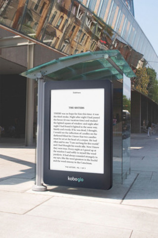 Kobo Glo 1 (CNW Group/Astral Media Inc.)