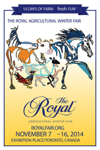 cnw royal agricultural winter fair names poster contest winner