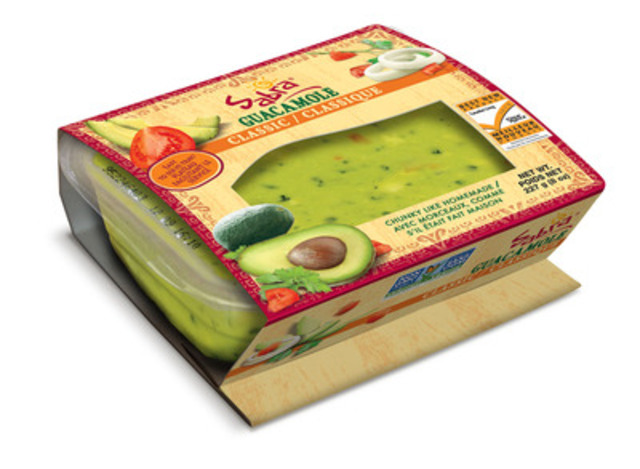 Sabra Guacamole wins Best New Product Award for 2015. Leader in the dip category for 100% consumer-voted awards (CNW Group/Sabra Canada Inc.)