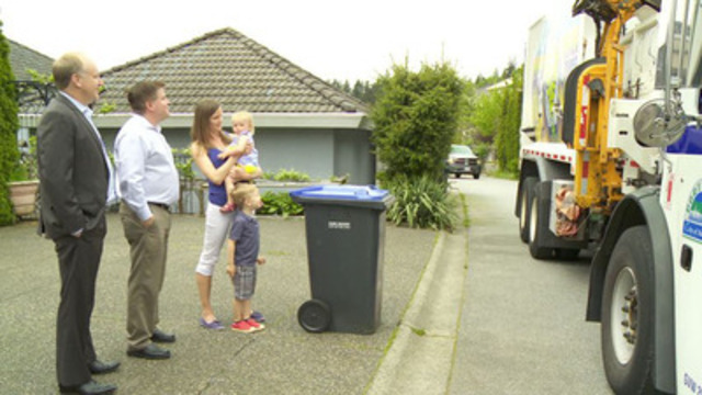 Video:  Fully voiced and edited 3 minute package featuring miscellaneous footage of City of Port Moody recycling operations, recycling pick up, new items for recycling and interview clips