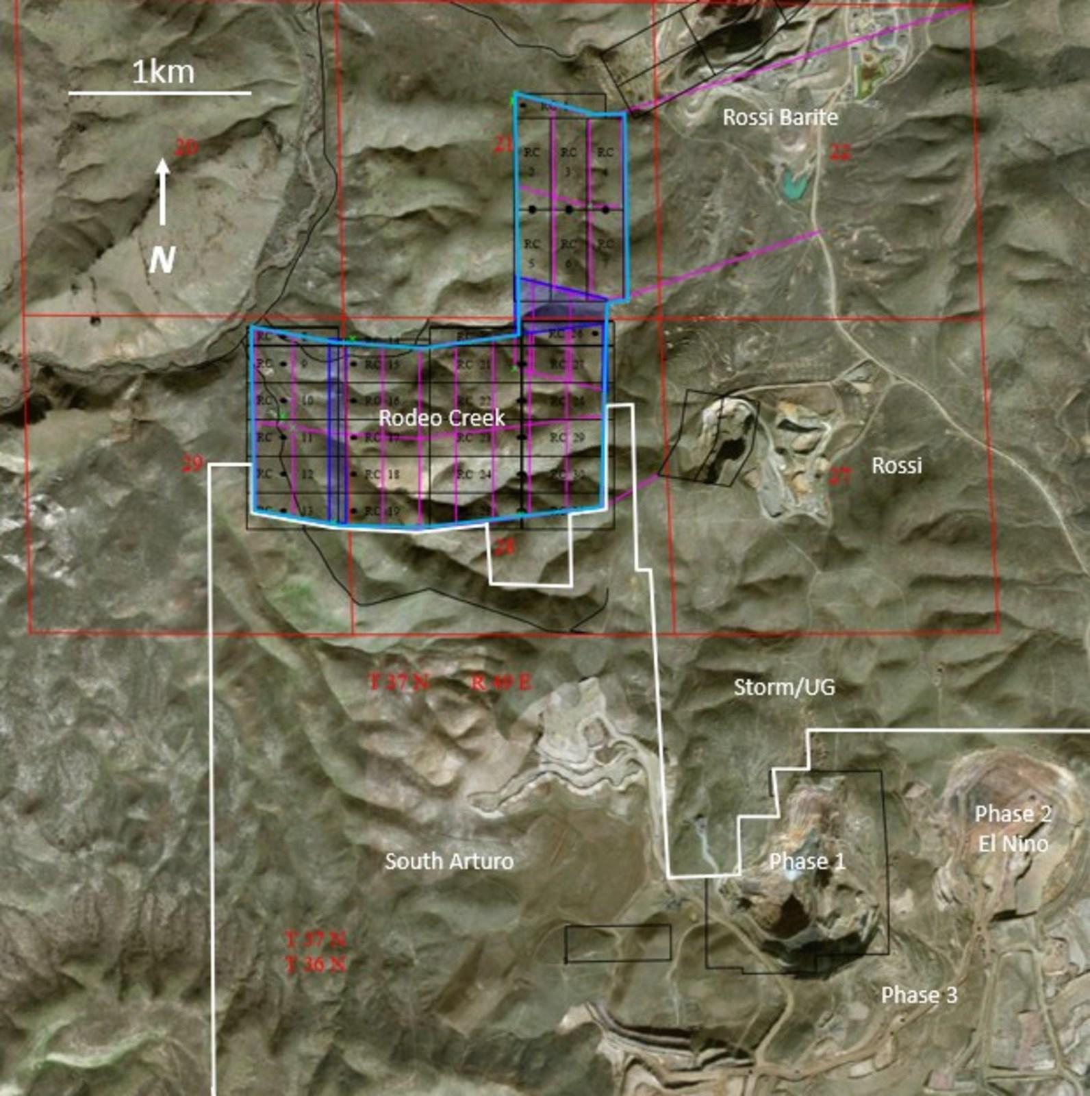 Figure 1 – Rodeo Creek Property