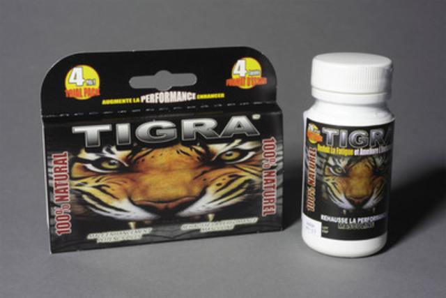 TIGRA : produit 100 % naturel, 100 % Québécois - ''Mettez un tigre dans votre corps''. (Groupe CNW/Spirale Communications) (Groupe CNW/TIGRA)