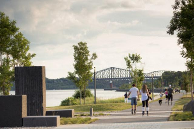 La promenade Samuel-De Champlain Crédit : CCNQ, Jonathan Robert (Groupe CNW/Commission de la capitale nationale du Québec (CCNQ))