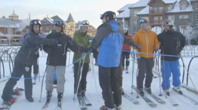 Video: Blue Mountain Resort near Collingwood, Ontario opens for the season
