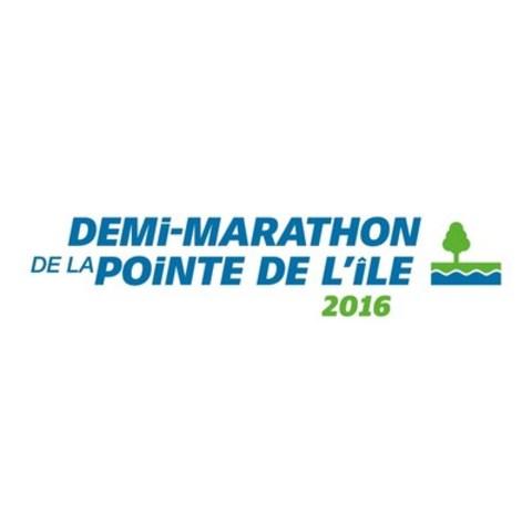Logo : Demi-marathon de la pointe de l'île (Groupe CNW/Demi-marathon de la pointe de l'île)