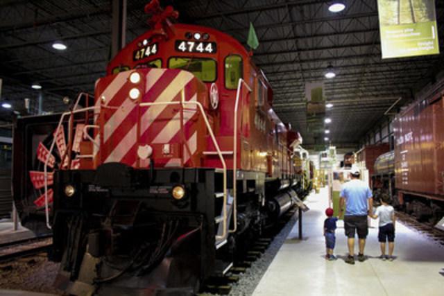 Exporail, le Musée ferroviaire canadien (Groupe CNW/Exporail, le Musée ferroviaire canadien)