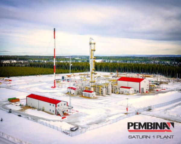 Pembina's Saturn I Facility (CNW Group/Pembina Pipeline Corporation)
