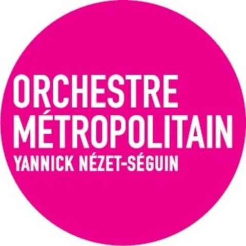 Logo : Orchestre Métropolitain, Yannick Nézet-Séguin (Groupe CNW/Orchestre Métropolitain)