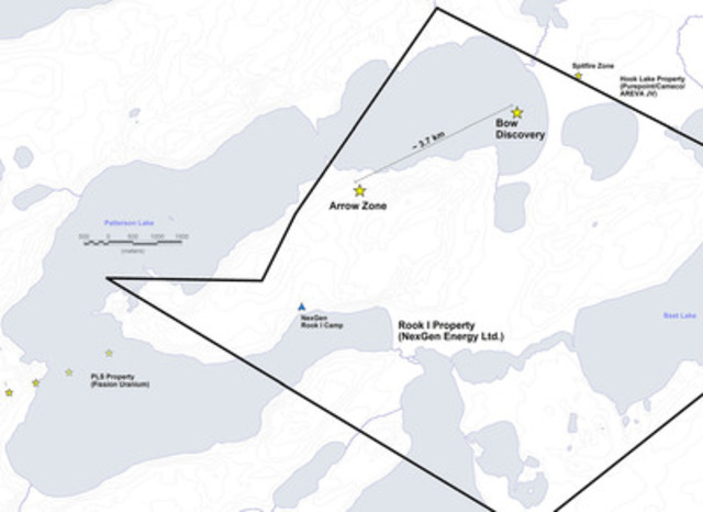 Figure 1: Bow Discovery Location (CNW Group/NexGen Energy Ltd.)