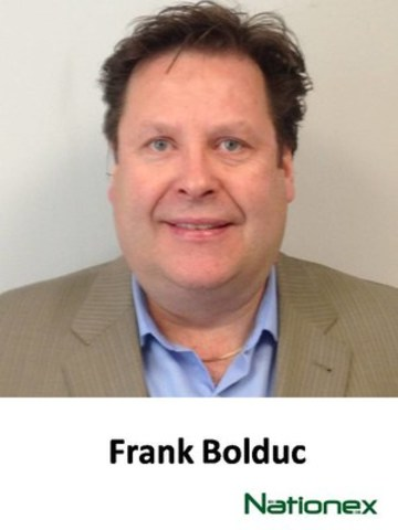 Frank Bolduc. Director of Sales, Ontario and Western Canada for Nationex (CNW Group/Nationex)