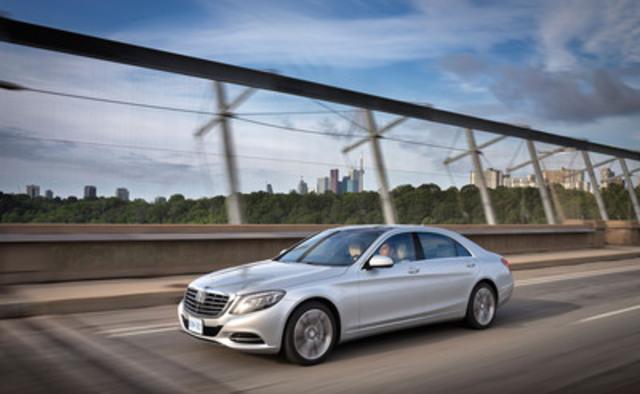 Mercedes-Benz Canada a aujourd'hui annoncé que la Classe S 2014 avait été nommée Meilleure nouvelle voiture de prestige (de plus de 75 000 $) par l'Association des journalistes automobile du Canada (AJAC). (Groupe CNW/Mercedes-Benz Canada Inc.)