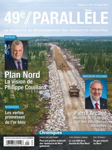 49 e Parallèle, Le magazine du developpement des ressources naturelles (Groupe CNW/JBC Média Inc.)