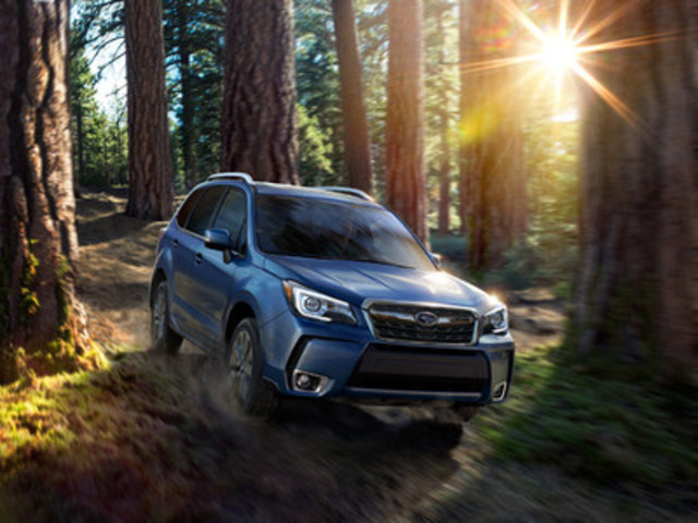 2017 Subaru Forester 2.0XT (CNW Group/Subaru Canada Inc.)