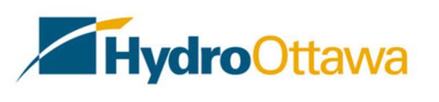 Logo: Hydro Ottawa (Groupe CNW/Société de portefeuille d'Hydro Ottawa inc.)