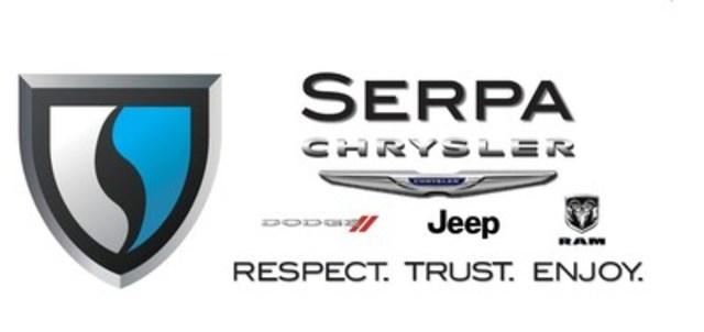 Serpa Chrysler Dodge Jeep RAM (CNW Group/Serpa Automotive Group)