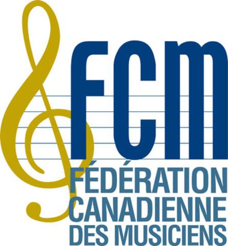 Fédération Canadienne des Musiciens (FCM) (Groupe CNW/Fédération canadienne des musiciens (FCM))