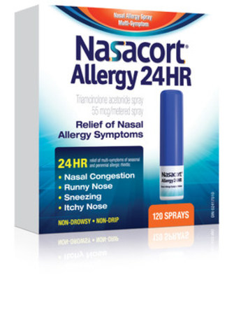 pendopharm announces nasacort allergy 24hr nasal spray is. Black Bedroom Furniture Sets. Home Design Ideas