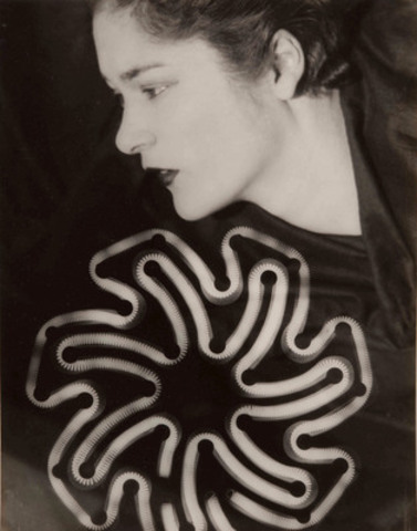 Man Ray, Rayograph (Tanya Ramm in profile), 1930. Gelatin silver print. 29.2 x 22.8 cm (CNW Group/Art Gallery of Ontario)