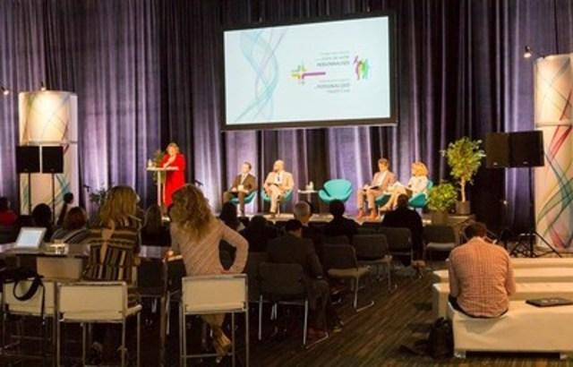 Le Congrès international sur les soins de santé personnalisés, une première mondiale développée à Montréal, fait partie des événements en sciences de la vie qui génèrent quelque 70 M$ en recettes touristiques à Montréal chaque année. (Groupe CNW/Palais des congrès de Montréal)