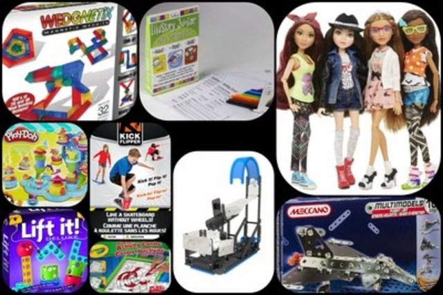Top 10 Toys for Back to School (CNW Group/Canadian Toy Association)