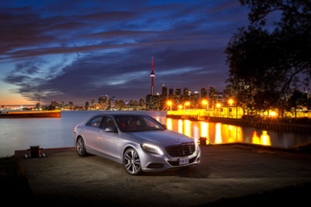 """Mercedes-Benz Canada is pleased to announce that the 2014 S-Class was named the Best New Prestige Car (over $75,000) by the Automobile Journalists Association of Canada (AJAC). This award follows the recent annual """"Test Fest"""" competition, where 80 Canadian automotive journalists evaluated new vehicles based on a wide variety of criteria back-to-back under the same conditions before ultimately determining the category winners. (CNW Group/Mercedes-Benz Canada Inc.)"""
