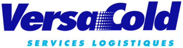 Versacold Services Logistiques French Logo (Groupe CNW/VersaCold Logistics Services)