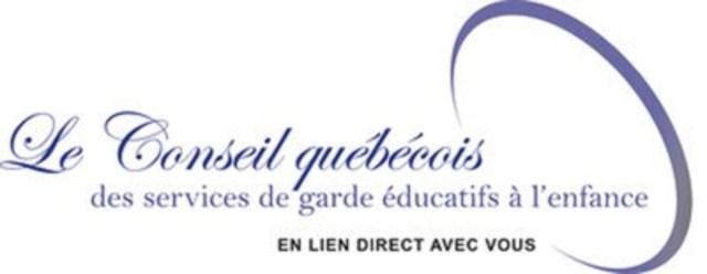 Logo: Le Conseil québécois des services de garde éducatifs à l'enfance (CQSGEE) (Groupe CNW/Conseil québécois des services de garde éducatifs à l'enfance (CQSGEE))