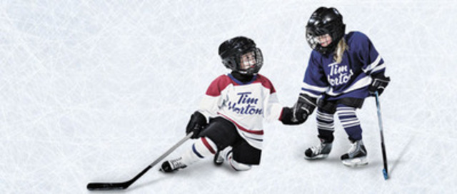 From October 15, 2013, to December 9, 2013, Canadians can have their favourite Timbits Hockey moments come to life in the Timbits Hockey Enters the Hockey Hall of Fame contest at the new Tim Hortons Theatre in the Hockey Hall of Fame. (CNW Group/Tim Hortons)