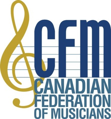 Canadian Federation of Musicians (CFM) (CNW Group/Canadian Federation of Musicians (CFM))