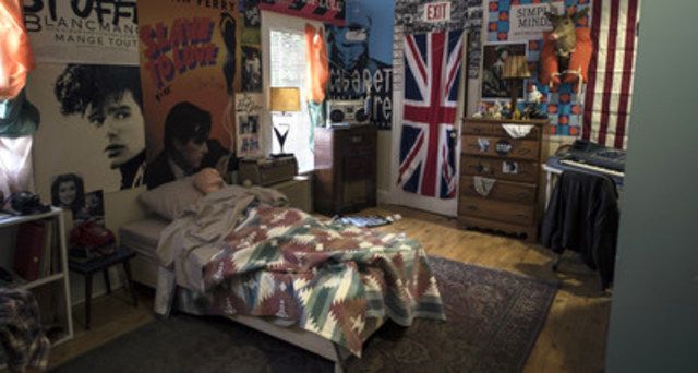 Canadian artist Sarah Keenlyside presents her recreation of Ferris Bueller's bedroom as part of Ferris Fest, May 20-22 at Virgin Hotels Chicago. (CNW Group/Sarah Keenlyside)