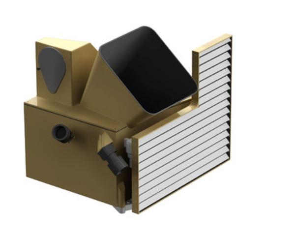 Maquette de la caméra multispectrale - Crédit image : ABB (Groupe CNW/ABB inc.)